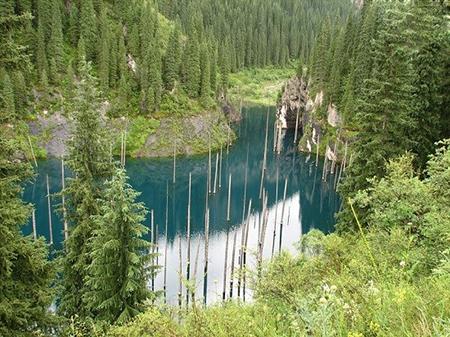 دریاچه کیندی،دریاچه کیندی قزاقستان