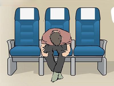 روش های خوابیدن در هواپیما,خواب راحت در هواپیما