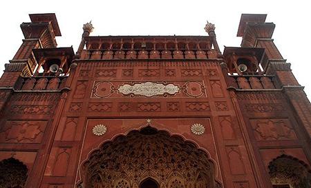 تصاویر مسجد پادشاهی پاکستان