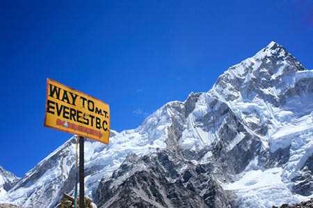 عکسهایی زیبا از قله اورست