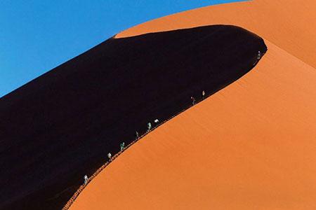 تصاویر صحرای نامیب
