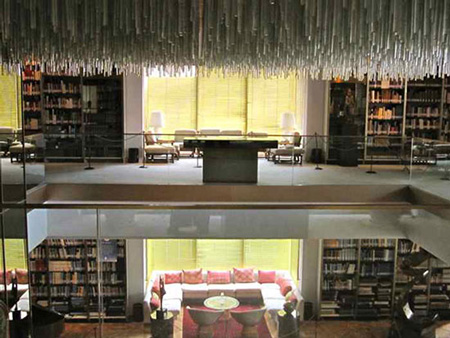 عکس های کتابخانه سلطنتی نیاوران