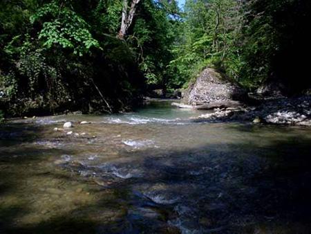 آبشار پلنگ دره مازندران
