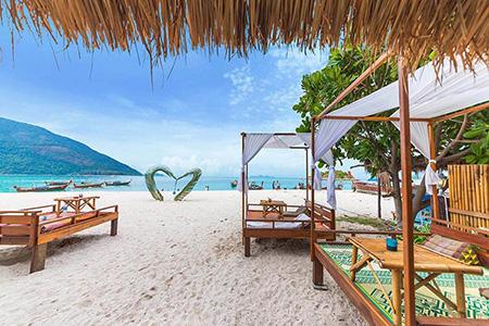 جزیره کولایپ در تایلند