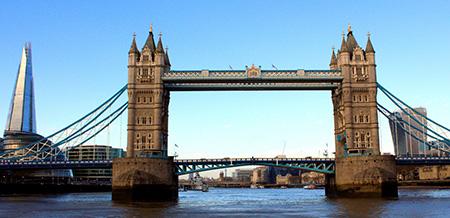 جسر البرج بلندن بانجلترا
