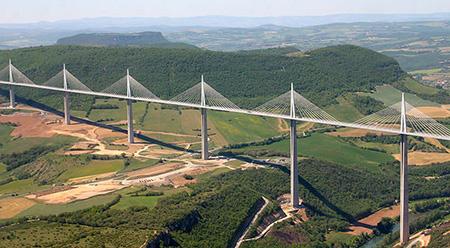 جسر ميلاو بفرنسا