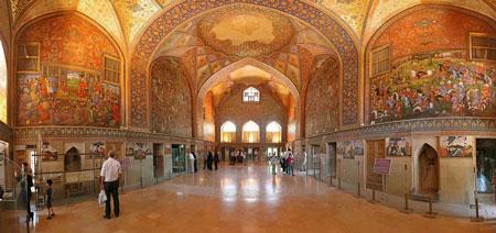 عکس کاخ چهل ستون،تصاویر کاخ چهل ستون