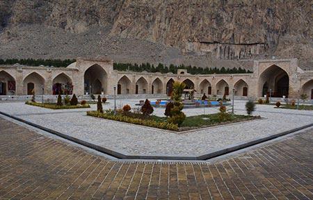 ,تصاویر کاروانسرای شاه عباسی کرمانشاه