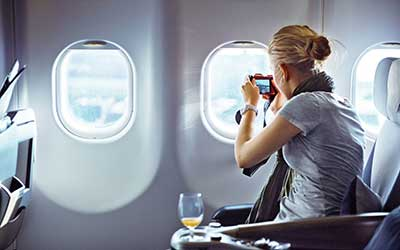 مسافرت رفتن،سفر با هواپیما