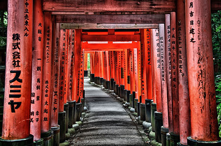 مکانهای تفریحی کیوتو