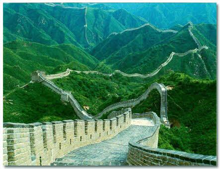 بهترین عکسها از دیوار چین