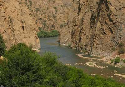 طولانی ترین رودخانه کردستان