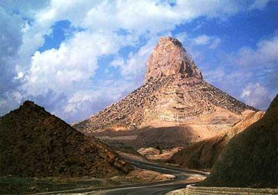 اولین نقطه خاکی جهان در ایران