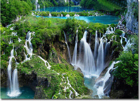 زیباترین دریاچههای اروپا در کروواسی