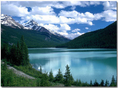 دریاچه لوئیز مکانی زیبا بر روی کره زمین