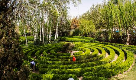 تصاویر باغ گل های اصفهان, درباره ی باغ گل های اصفهان, تصاویری از باغ گل های اصفهان