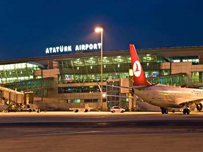 ،فرودگاه آتاتورک،تور استانبول