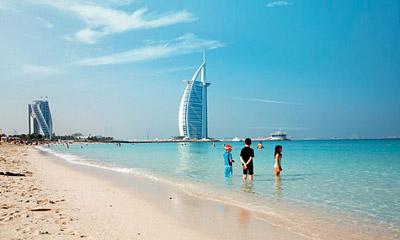 سواحل دبی,زیباترین سواحل دبی,ساحل جمیرا