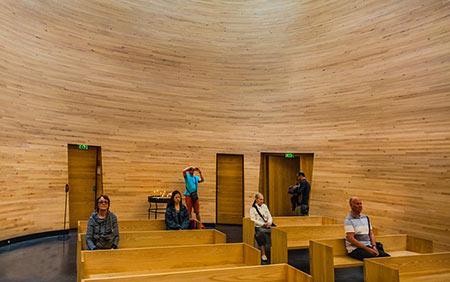 نمازخانه سکوت,کلیساهای عجیب و غریب,کلیسای هلسینکی
