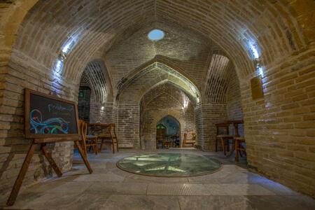 آثار تاریخی لرستان,تصاویری از حمام گپ,حمام تاریخی گپ