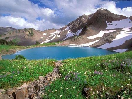 دریاچه کوه گل,معرفی دریاچه کوه گل,دریاچه کوه گل کجاست