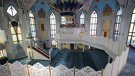 مسجد قل شریف,مسجد کول شریف,بزرگ ترين مسجد روسیه