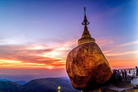 معبد Kyaikhtiyo,عجایب گردشگری,مشهورترین معابد جهان