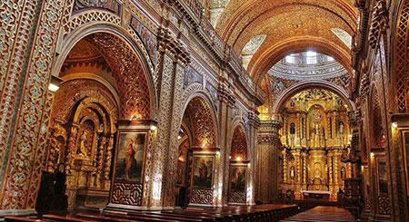 کلیسای جامعه مسیح,عکس های کلیسای جامعه مسیح,تصاویر کلیسای طلا کوب شده جامعه مسیح