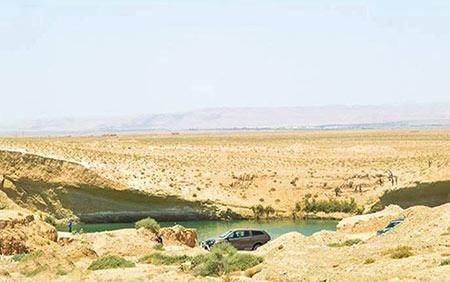 دریاچه تونس,دریاچه عجیب تونس,دریاچه اسرارآمیز تونس,