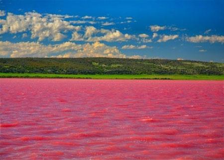 دریاچه هیلیر,دریاچه هیلیر کجاست,دریاچه هیلیر