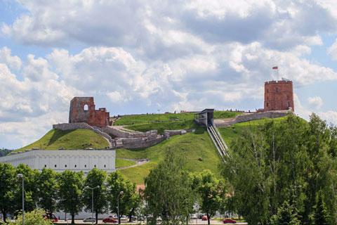 جاذبه های گردشگری لیتوانی,لیتوانی,قلعه گدیمیناس