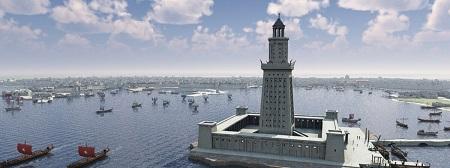 فانوس دریایی اسکندریه کجاست, بندر اسکندریه ترکیه, بقایای فانوس اسکندریه
