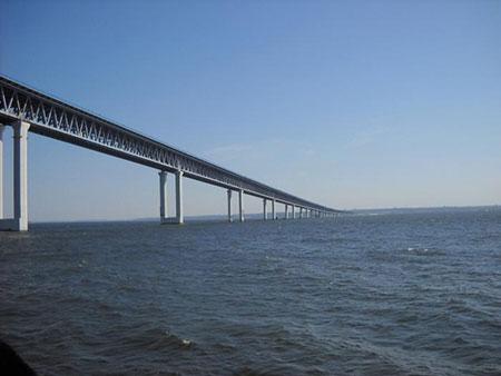 طولانی ترین پل جهان,طولانی ترین پل های جهان,پل جدید یولانوفسک
