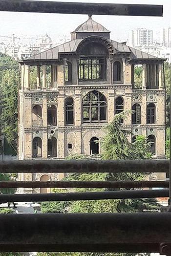 عمارت کلاه فرنگی,کاخ عشرت آباد,بازسازی کاخ عشرت آباد