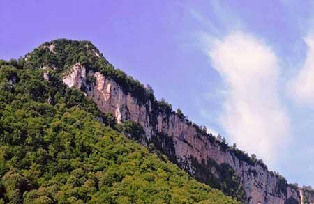 قلعه ماران,کوه قلعه ماران,قلعه ماران در گلستان