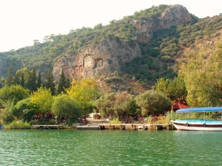 مارماریس,جاذبه های گردشگری مارماریس,رودخانه دالیان