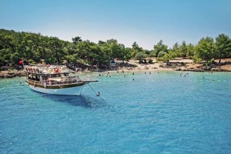 مارماریس,مکانهای دیدنی ترکیه,جزیره کلئوپاترا