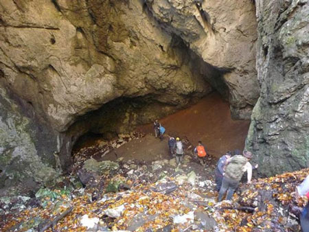 غار آویشو,غار آویشو کجاست,غار آویشو در ماسال