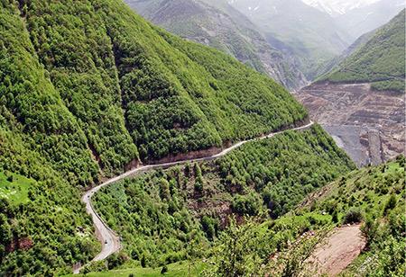 مازندران,شهرهای مازندران,جاذبه های گردشگری مازندران