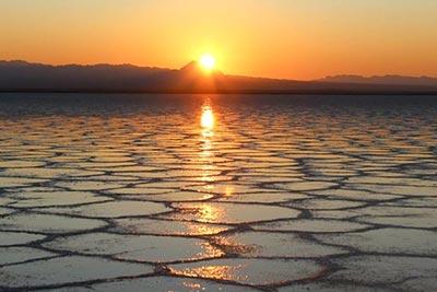 کویر مصر,تصاویر کویر,دریاچه نمک