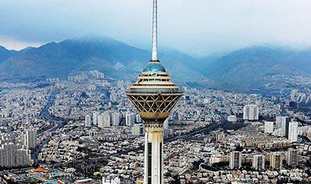 برج میلاد,عکس برج میلاد,تصاویر برج میلاد