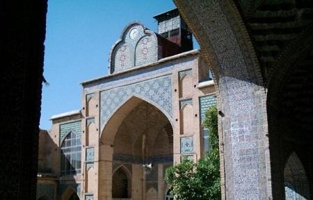 مسجد مشیرالملک شیراز, آدرس مسجد مشیر شیراز, مسجد مشیر