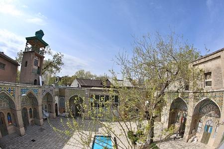 مسجد مشیر, معماری مسجد مشیر, پلان مسجد مشیر