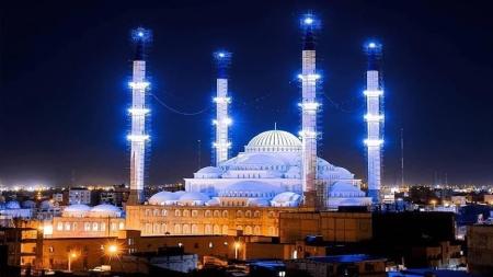 مسجد جامع مکی,مسجد مکی اهل سنت زاهدان,معماری مسجد مکی زاهدان