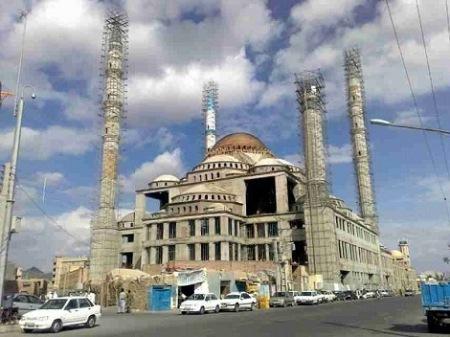 تاریخچه مسجد مکی, تصاویری از داخل مسجد مکی زاهدان, تصاویر مسجد مکی زاهدان
