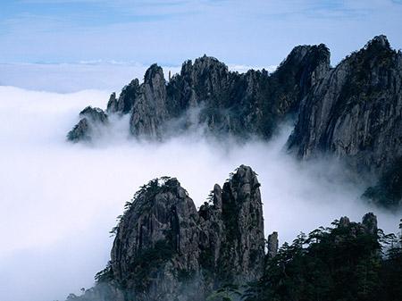 کوه هوآشان,کوه هوآشان کجاست,عکس های کوه هوآشان