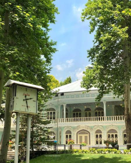 معماری موزه زمان,کافه گالری موزه زمان,آدرس موزه زمان