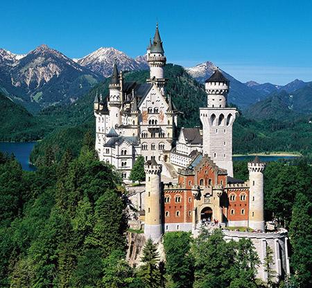 قلعه نویشوانشتاین,قصر نویشوانشتاین آلمان,عکس های قصر نویشوانشتاین