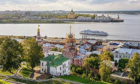 نیژنی نووگورود روسیه, آب و هوای نیژنی نووگورود, درباره ی نیژنی نووگورود