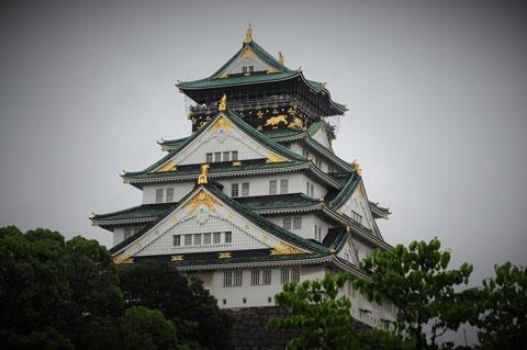کاخ اوزاکا,زیباترین کاخ های جهان,ژاپن